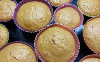 Кексы на сметане с боярышником – рецепт пошаговый с фото