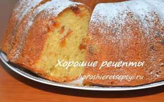 Кекс с курагой и изюмом – рецепт пошаговый с фото