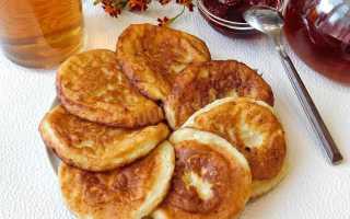 Оладьи с припеком из творога – рецепт пошаговый с фото