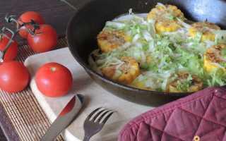 Быстрая яичница с кукурузой – рецепт пошаговый с фото