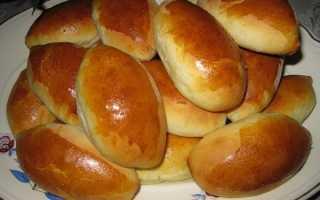 Пирожки с картошкой как у бабушки – рецепт пошаговый с фото