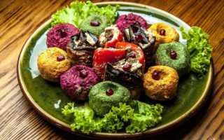 Пхали из капусты по-грузински – рецепт пошаговый с фото