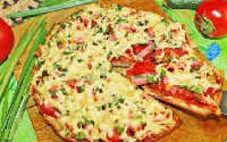 Ленивая пицца на сковороде – рецепт пошаговый с фото