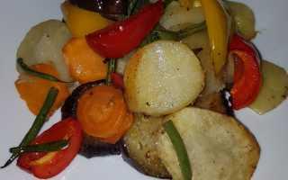 Картошка тушеная с овощами в духовке – рецепт пошаговый с фото