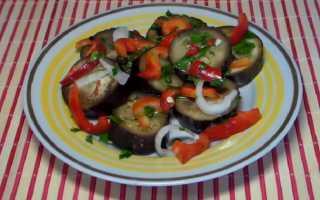Быстрые маринованные баклажаны – рецепт пошаговый с фото