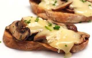 Горячие бутерброды с творогом в микроволновке – рецепт пошаговый с фото
