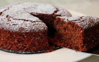 Постные шоколадные кексы – рецепт пошаговый с фото