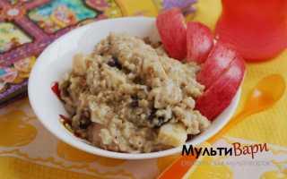 Овсяная каша с ягодами и изюмом в мультиварке – рецепт пошаговый с фото