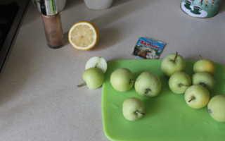 Домашний лимонно-яблочный компот – рецепт пошаговый с фото