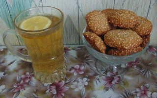 Кукурузное печенье с кунжутом – рецепт пошаговый с фото