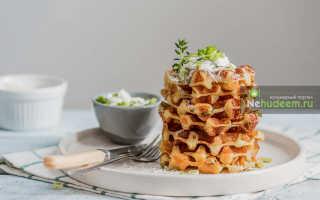 Вафли с сыром и луком – рецепт пошаговый с фото
