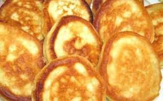 Кефирные оладьи с майонезом на сковороде – рецепт пошаговый с фото