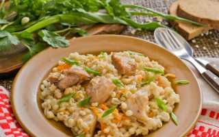Овсяная каша с вареным мясом и петрушкой – рецепт пошаговый с фото
