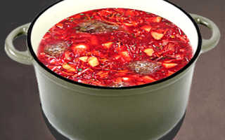 Быстрый борщ из тушенки и помидоров – рецепт пошаговый с фото