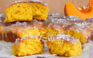 Сдобные тыквенные булочки – рецепт пошаговый с фото