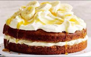 Бисквитный торт из мини коржей – рецепт пошаговый с фото