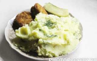 Нежное картофельное пюре из молодого картофеля – рецепт пошаговый с фото