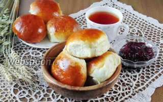 Дрожжевая булка со сливами – рецепт пошаговый с фото