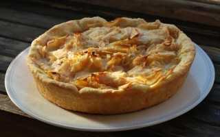 Цветаевский яблочный пирог со сметаной – рецепт пошаговый с фото