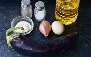 Паштет из баклажанов – рецепт пошаговый с фото