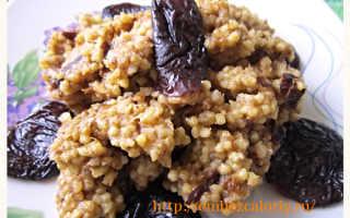 Каша из злаков с черносливом – рецепт пошаговый с фото