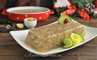 Холодец из свиных ножек и говядины – рецепт пошаговый с фото