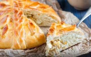 Кулебяка в духовке – рецепт пошаговый с фото