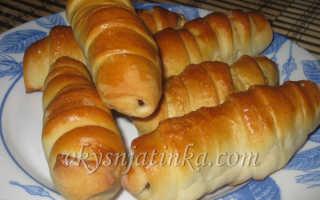 Сосиски в тесте в духовке – рецепт пошаговый с фото