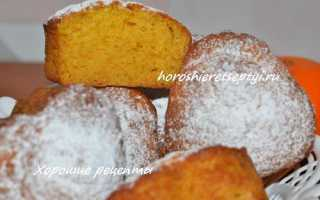 Маффины с мандаринами – рецепт пошаговый с фото