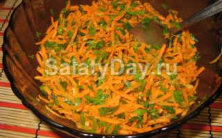 Салат из тыквы, моркови и огурца – рецепт пошаговый с фото