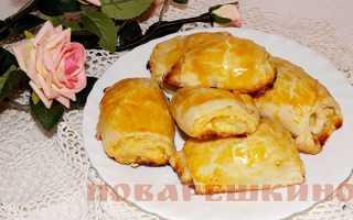 Слоеное печенье на творожном тесте – рецепт пошаговый с фото