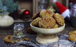Овсяное печенье с шоколадом – рецепт пошаговый с фото