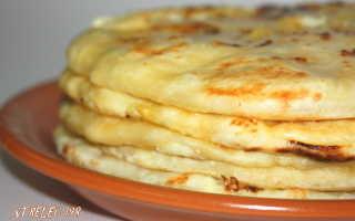 Лепешка с зеленью и адыгейским сыром в духовке – рецепт пошаговый с фото