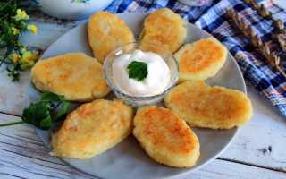Жареные пирожки с картофельной начинкой – рецепт пошаговый с фото