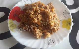 Гречка с куриным фаршем – рецепт пошаговый с фото