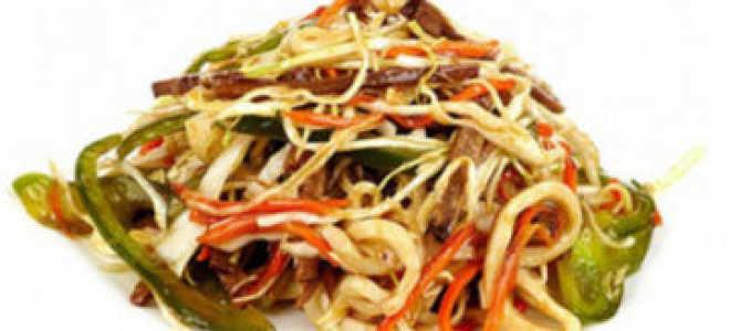 Салат из кальмаров с пекинской капустой и свежим огурцом – рецепт пошаговый с фото