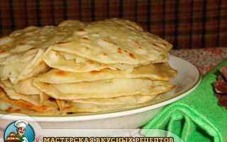 Кыстыбый с картошкой по-татарски – рецепт пошаговый с фото