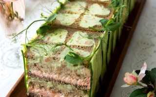 Торт-бутерброд по-шведски – рецепт пошаговый с фото