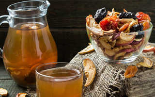 Компот из сухофруктов яблок, груши и кураги – рецепт пошаговый с фото