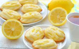 Лимонное вафельное печенье – рецепт пошаговый с фото