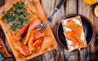 Бутерброды с соленой горбушей и творожным сыром – рецепт пошаговый с фото