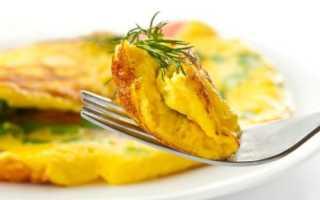 Омлет с луком и сыром – рецепт пошаговый с фото