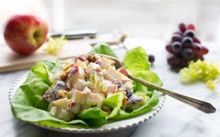 Салат Вальдорф с курицей и сельдереем – рецепт пошаговый с фото