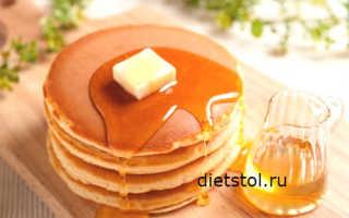 Вкусные панкейки на молоке – рецепт пошаговый с фото