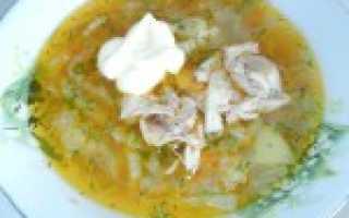 Овощной суп на курином бульоне с пекинской капустой – рецепт пошаговый с фото