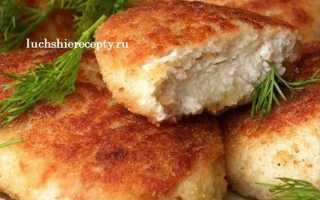 Сочные куриные котлеты – рецепт пошаговый с фото