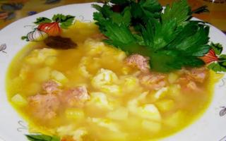Утиный суп с клецками – рецепт пошаговый с фото