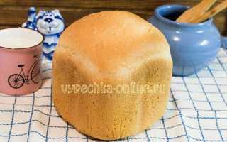 Мягкий белый хлеб в хлебопечке – рецепт пошаговый с фото