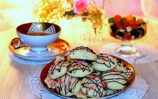 Печенье из кокосовой стружки с шоколадом – рецепт пошаговый с фото