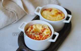 Томатная яичница – рецепт пошаговый с фото